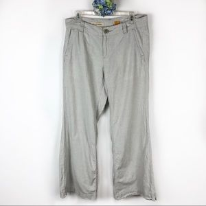 Pilcro and the Letterpress Linen Blend Pants 10